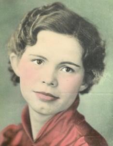 #24=Clarice Sletten(Scarville, Iowa Graduation '37)