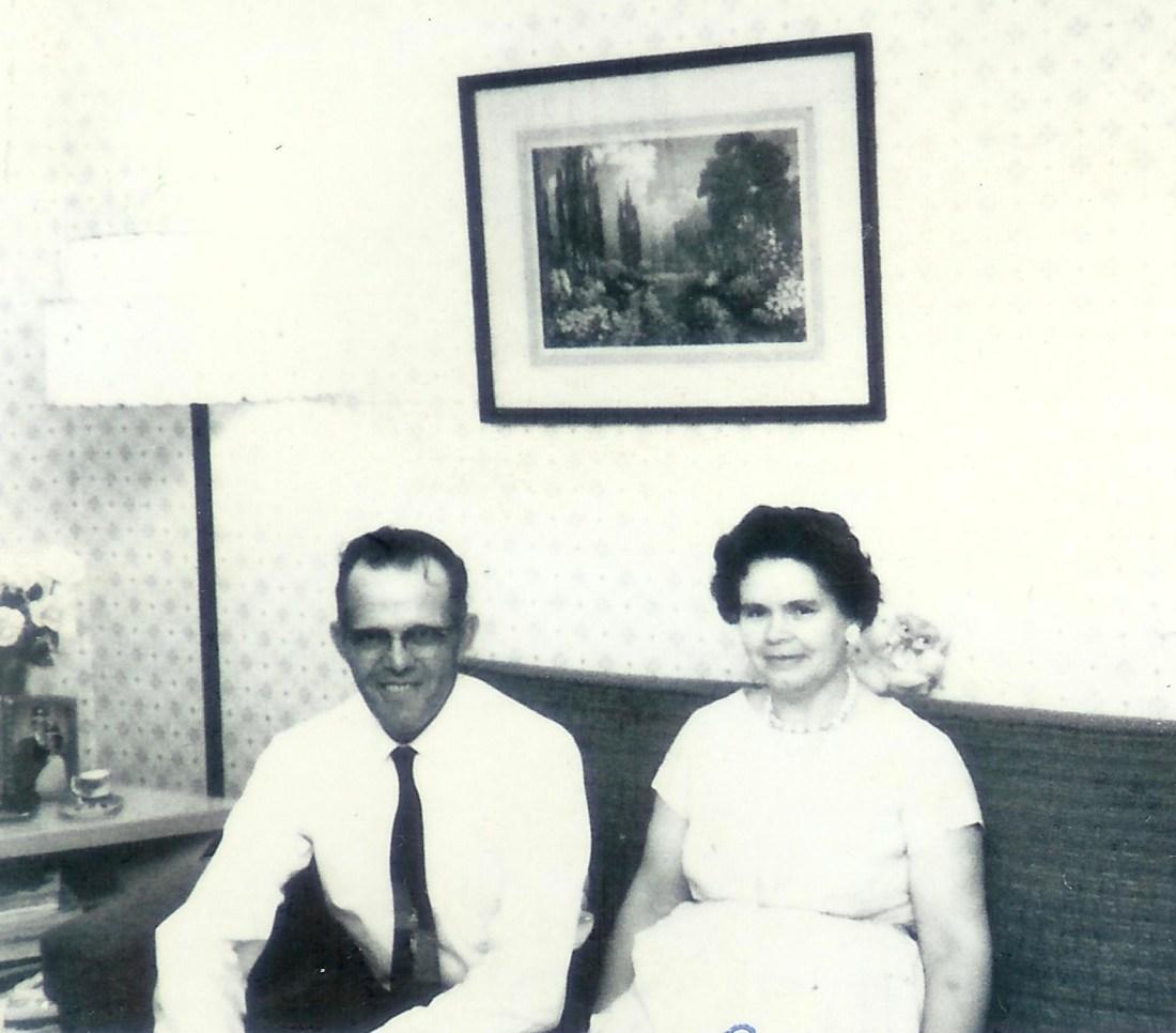 #357=Russ&Clarice N., Rosemary's HS grad.; May 24, 1964