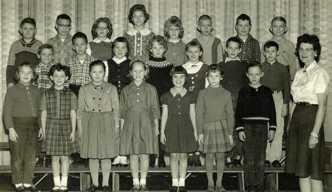 #164=Elliott's 3rd Grade class; teacher was Mrs. Mortenson