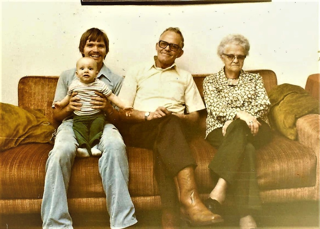 #721 Noorlun 4 generations. March 1978 001