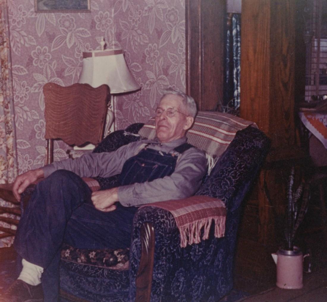 #893 Gr. Ed Noorlun at home in Lake Mills, IA