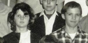 #167=Elliott's 6th Grade class 1965-66; Mrs. Scofield-teacher