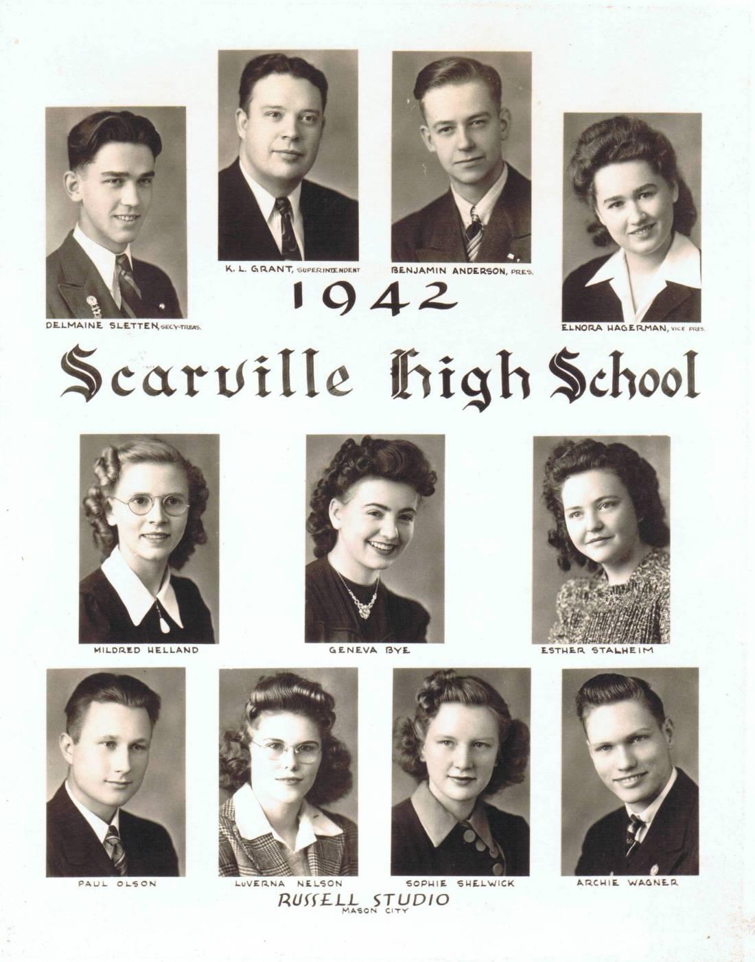 1942ScarvilleGraduates