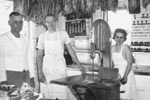 #936 Axel Challgren Family-Butcher Trade