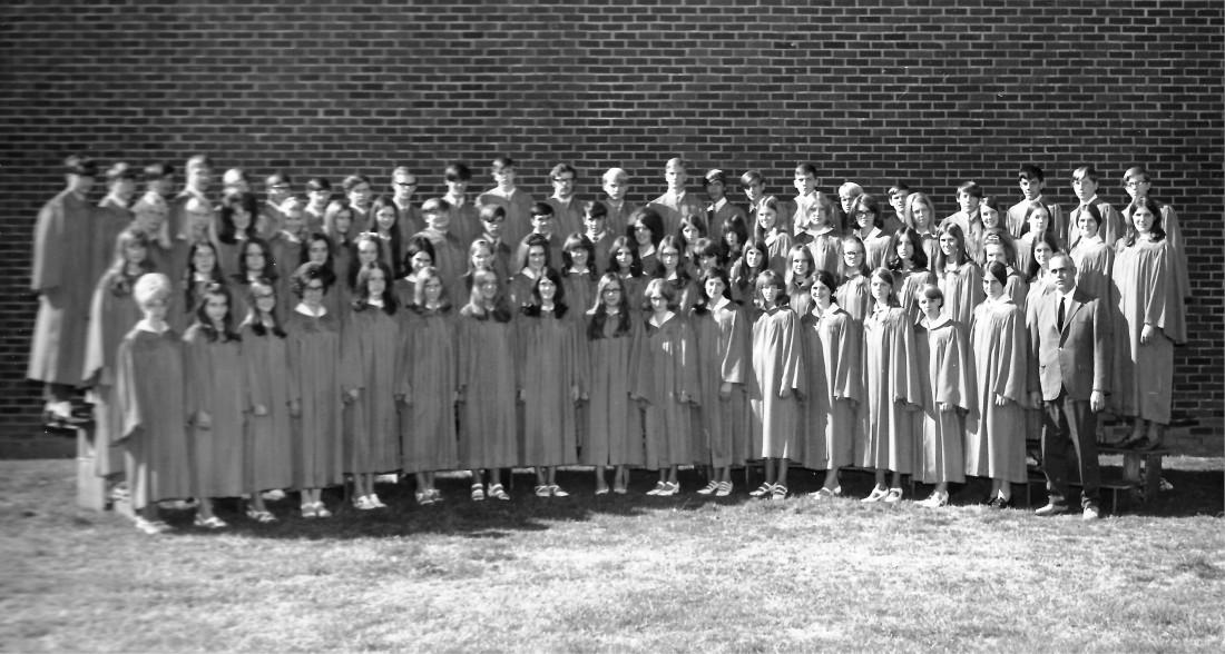 #945 BGHS Concert Choir 1971-72