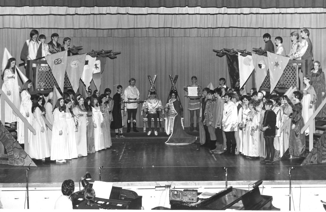 #947 BGHS Camelot Musical 1971
