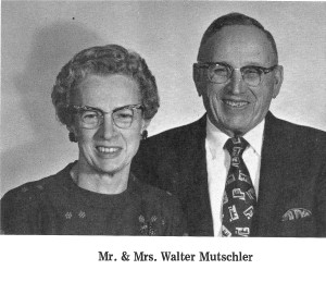 #966 Genevieve and Wally Mutschler..our 3rd grandparents