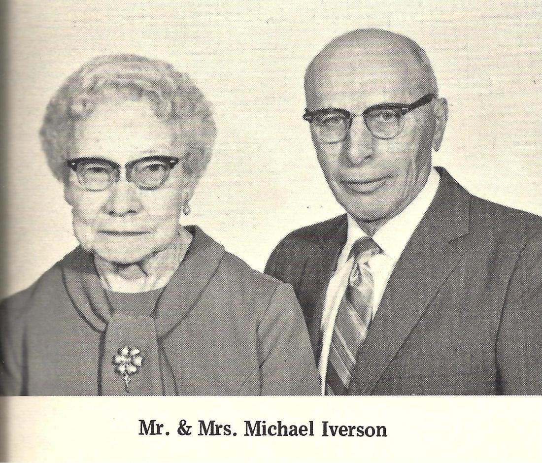 #967 Mike and Jessie Iverson..EUB Church..Kiester, MN