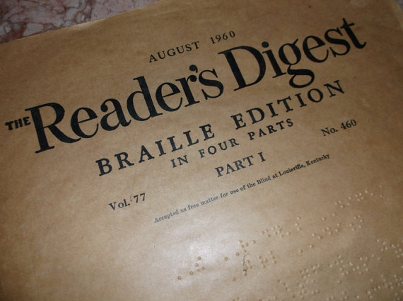 Braille Reader's Digest