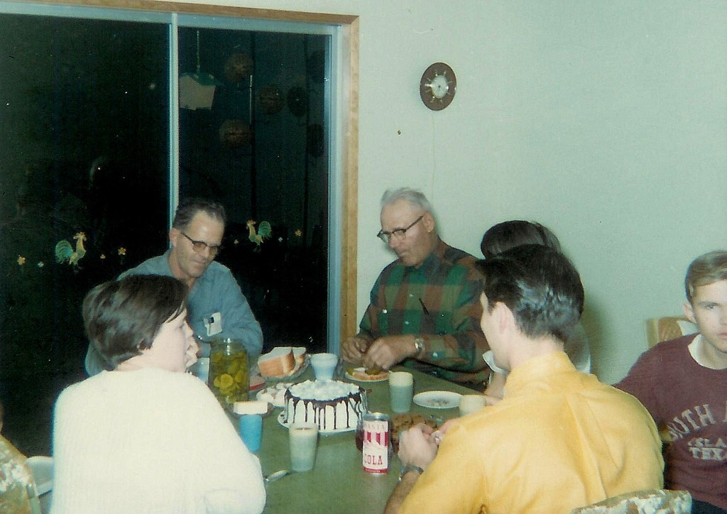 #156=Elliott sick at his 14th BD party. Jan. 14, 1968