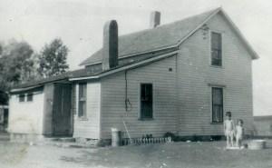 #367=Noorlun home, NW of Kiester, MN; circa 1949
