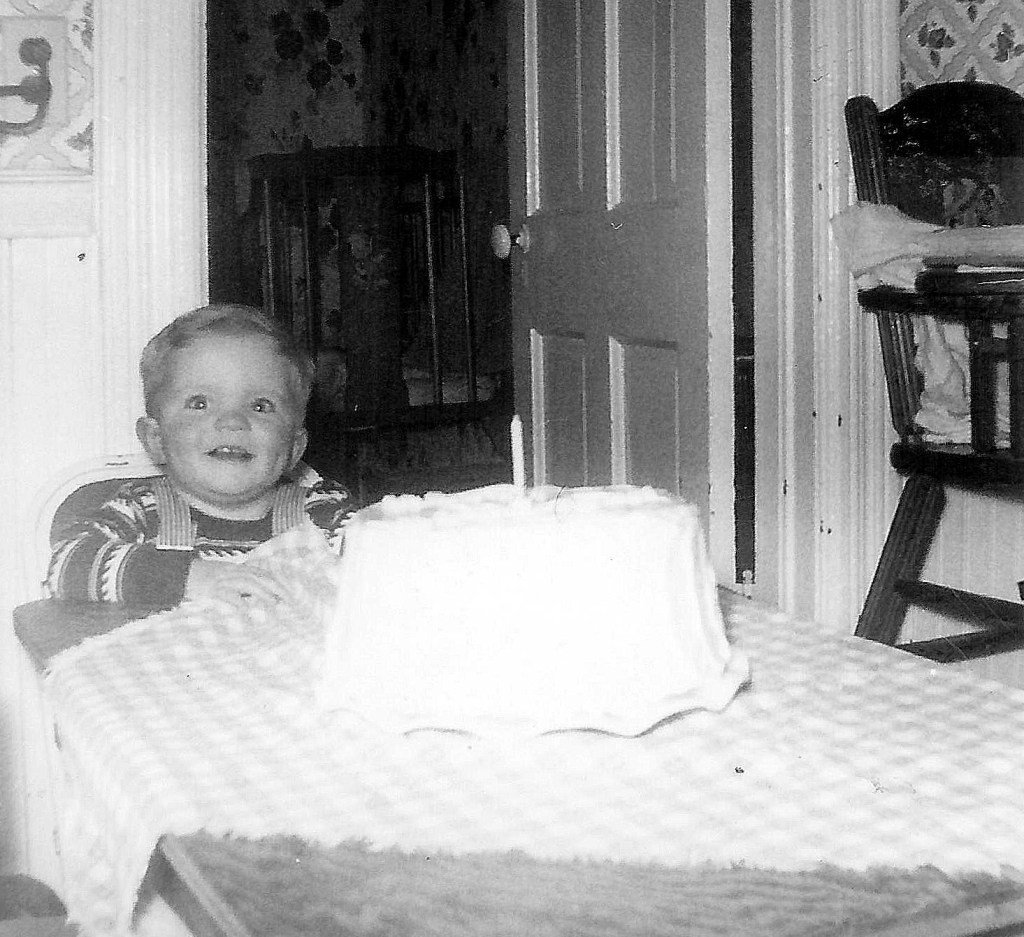 #61=Elliott's first B.D.,Jan. 1955