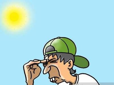 Guy wearing cap backwards, shades his eyes.