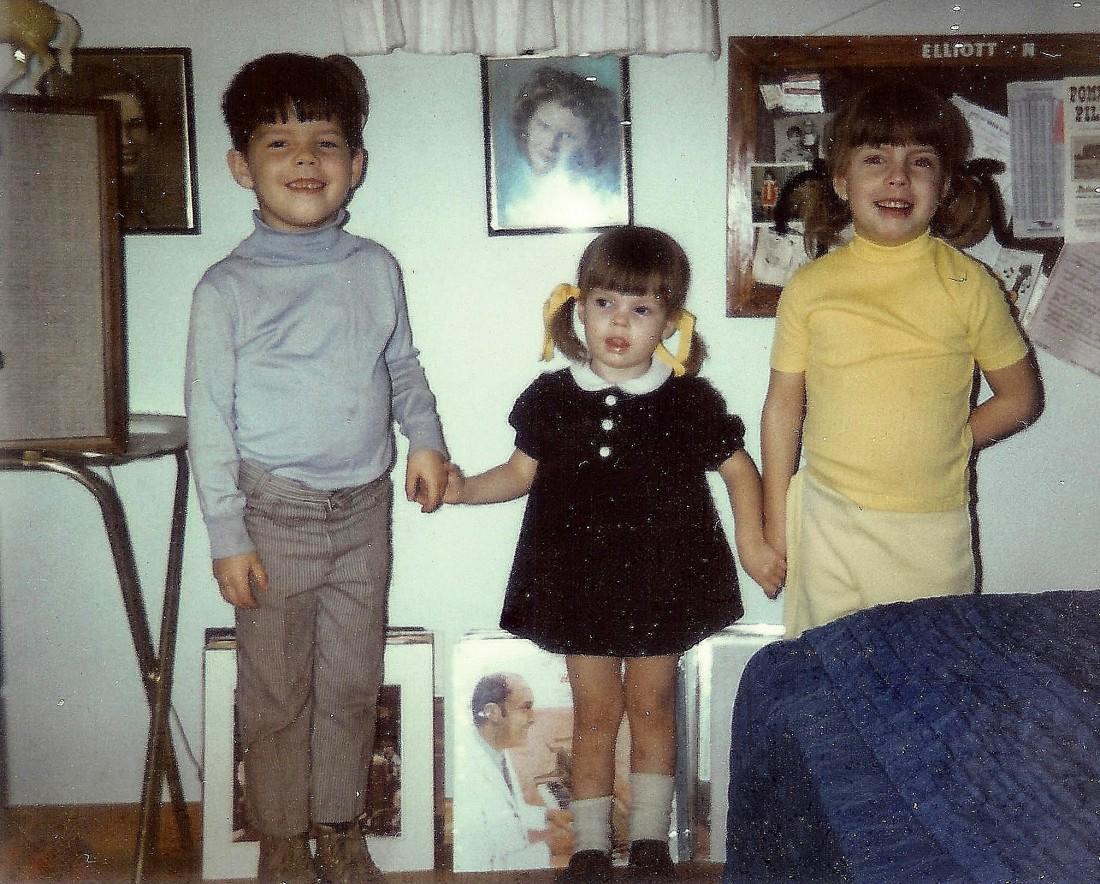 #101=Dougie, Denise & Debbie, circa 1973