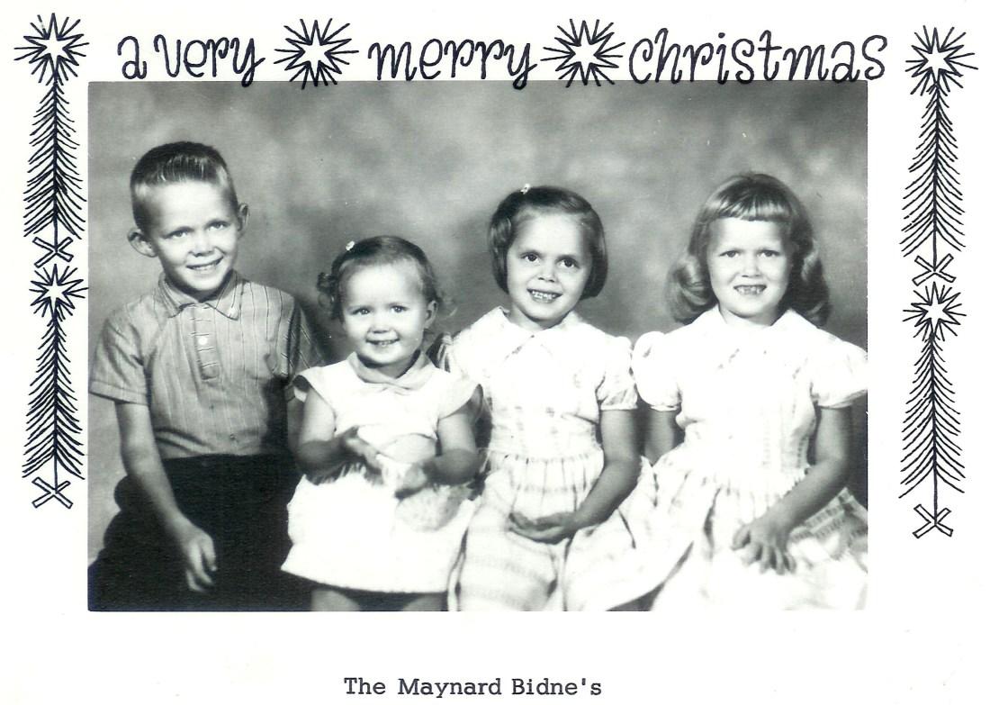 #317=Virgil,Patty,Linda&Diane Bidne...Christmas