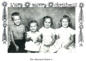 #317=Virgil,Patty,Linda&Diane Bidne...Christmas