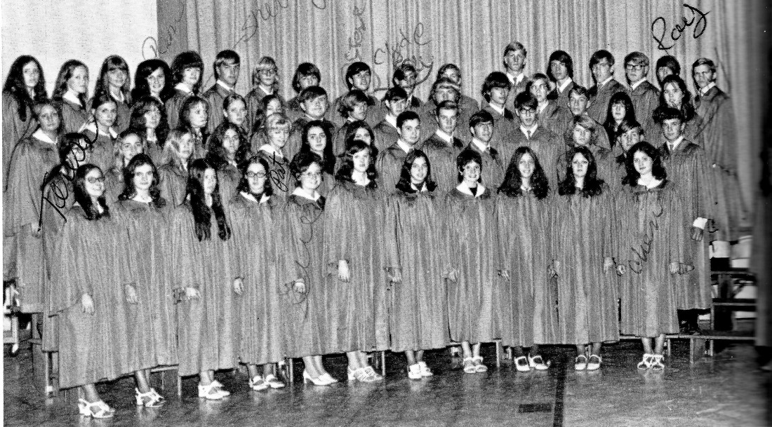 #975 Elliott's Senior year of choir 1972 001