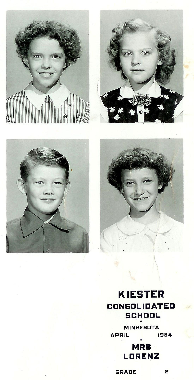 #212.1 rosemary arlone noorlun, 2nd grade, 1953-54