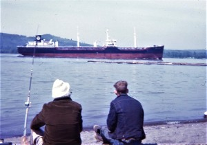 #1001 Columbia River at Woodland Sand Bar 7.1969