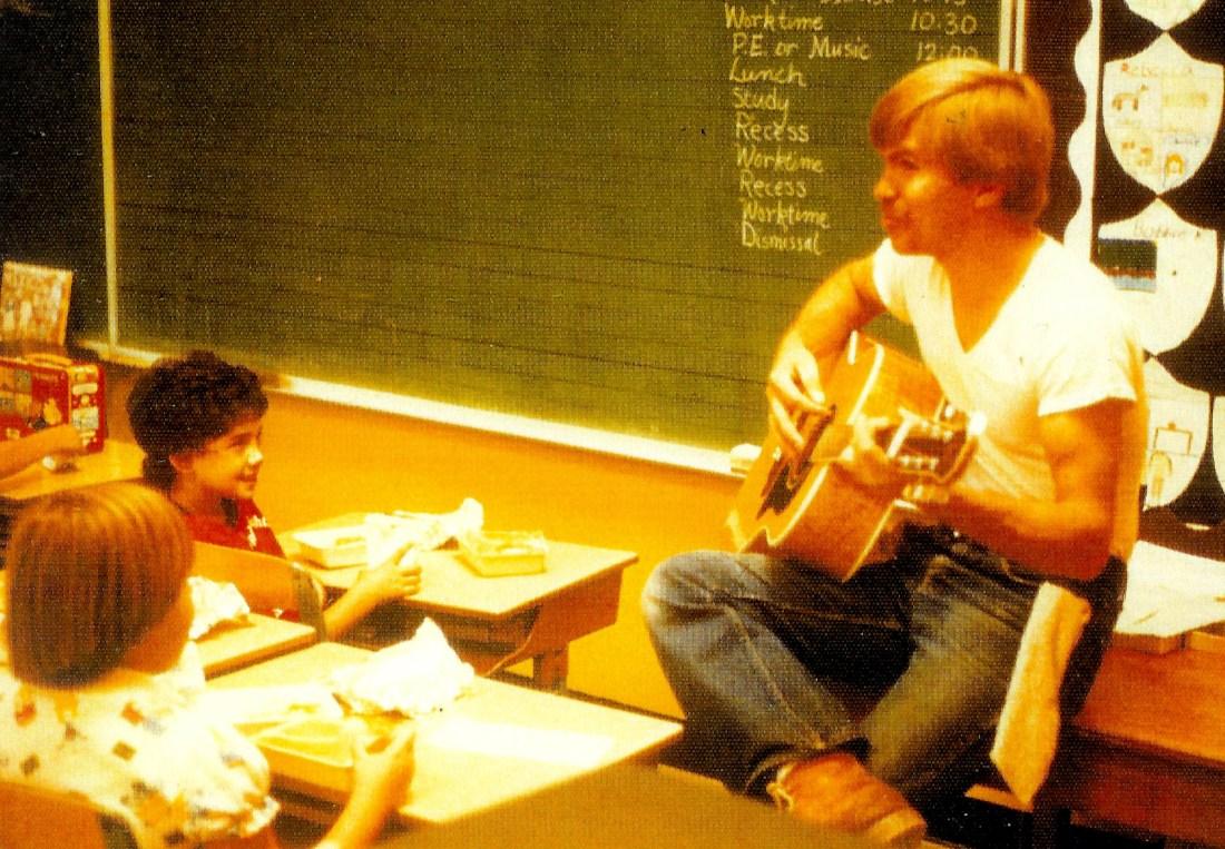#207=Elliott in Sandy Bristol's class; circa 1978