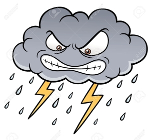 thunderstorm clipart Fresh Thunderstorm clipart animated Pencil and in color thunderstorm