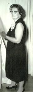 #220=Rosemary& Mom, wedding day; 1964