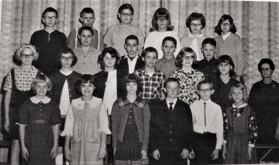 #167 Elliott 6th Grade. 1965-66. Mrs. Scofield
