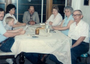 #353=Clan at Bob Sletten's home; date unknown