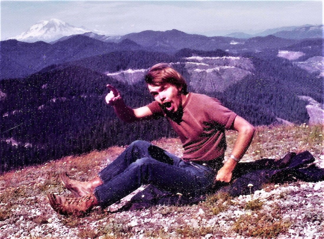 #52=Elliott on Mt. St. Helen's (August 1975)