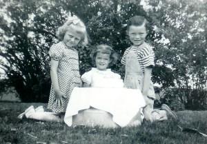 #307=Pauline Bidne, Rosemary..3rd BD.., Lowell; May 15, 1949