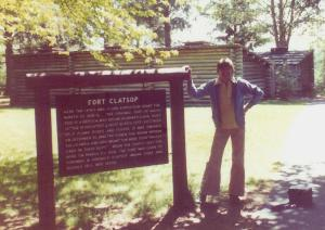#590=Elliott at Ft. Clatsop, OR; June 1, 1975