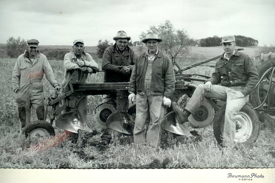 #173=Plowmen who helped Dad; circa 1963