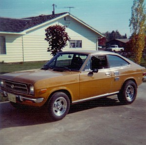 #542=My first car, 1971 Datsun Coupe