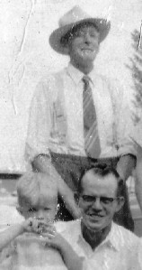 #17.1 Grandpa Edwin Noorlun, Dad Russell and Elliott