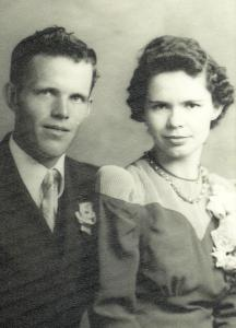 #21.1=Russell & Clarice Noorlun(Wedding Day, June 21st, '41)