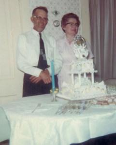 #355=Russ&Clarice Silver Anniversary; June 21, 1966
