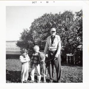 #986 Candi, Elliott, Joker and Grandpa John