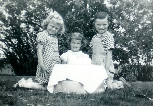 #307=Pauline Bidne, Rosemary..3rd BD.., Lowell; May 15, 1949