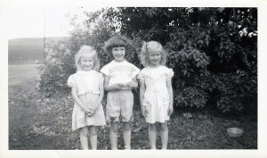 #741 Rosie's 6th BD 5.15.52 with Renie n Barb Noorlun